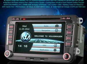 OEM Мултимедия, Двоен дин за VW Golf,Passat EOS, Bora, Tiguan Jetta